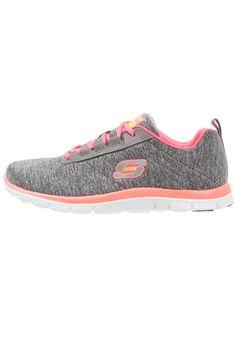 Damen Skechers Sport FLEX APPEAL NEXT GENERATION Sneaker low grau/koralle -