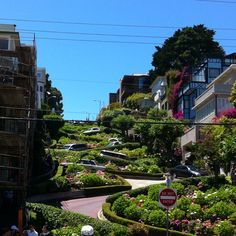 San Fancisco- HA HA!  Dad drove me down this street when I was young.  Still remember that! Been there twice since.