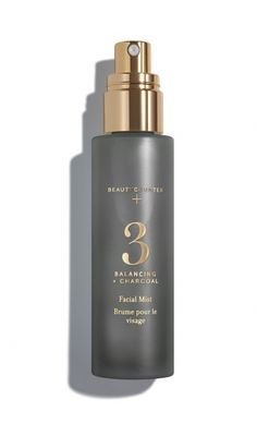Favorite new facial spray that hydrates and smells like peppermint and rosemary!  Makes me feel refreshed after a hot summer day.