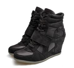 Special Update your level-Sneakers High Heel Sneakers (dusty,grey,khaki) Sneakers from stylishplus.com