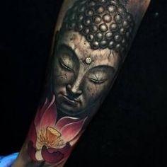 Resultado de imagem para buddha tattoo