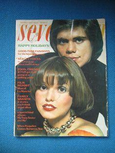 Seventeen Magazine December 1972 Great Vintage Magazine by Lovalon, $15.00