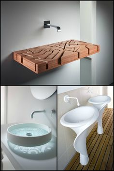 10 unique sinks you won't find in an average home!