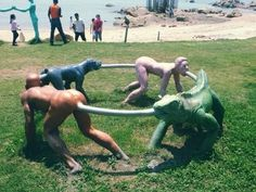 This fun-looking thing. | 19 Playgrounds That Will Haunt Your Worst Nightmares