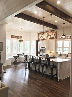 Image result for urban farmhouse kitchen dining and great room