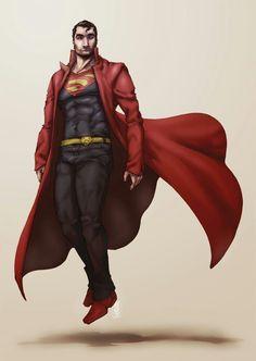 Interesting design superman                                                                                                                                                                                 More