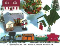 plastic canvas christmas village free pattern - Yahoo Search Results