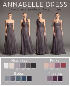 """Jenny Yoo 'Annabelle' convertible tulle gown in """"linen"""" color size 12. $199"""