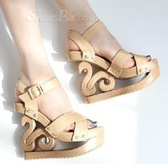 Retro Wedge platfrom Sandals - I'm not really a wedge person but I like these.