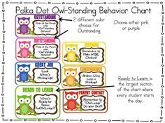 OWL-Standing Behavior Chart! Oh gosh...here we go. If I have time this is happening!