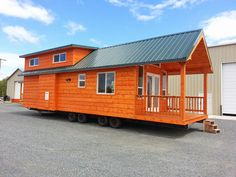 The Pacific Loft: a 396 sq ft park model home from Oregon-based builder, Rich's Portable Cabins.