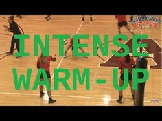 High Intensity Warm-Up Drills - amalia Volleyball Passing Drills, Volleyball Warm Ups, Volleyball Gifs, Volleyball Practice, Volleyball Training, Volleyball Workouts, Coaching Volleyball, Basketball Drills, Volleyball Hair