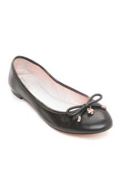 kate spade new york Black Willa Ballet Flat