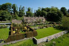 Property Photography - Ed Shepherd Photography - Cotswold Stone - The Cotswolds - Beautiful Garden - Walled Garden - Hidden Garden - Maze