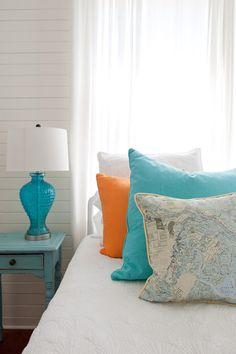 Nautical Chart Pillow Indoor/Outdoor Savannah by savannahjacks, $70.00 - love these!