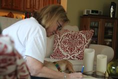 John Tuohy's  MY WRITERS SITE: Here Mary, let me help you write that and then aft...