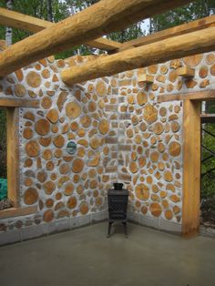 The cordwood is done. Finally we were able to work on other projects. Like cut those trees that have been leanin.