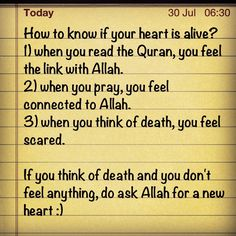 Is your heart alive?
