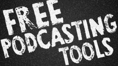 25 free podcasting tools as good as their paid alternatives by Daniel J. Lewis  Pinned by www.goodinklings.com Content Writing , Marketing and Social Media #socialmedia #socialmediatips #marketing