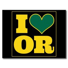 Where ever I am in the world...I will always love Oregon, and my Ducks