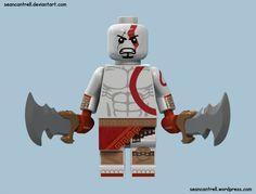 Lego Kratos - God of War by seancantrell on DeviantArt