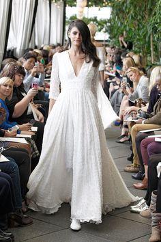 Delphine Manivet , Créatrice de robes de mariée Paris  Robes de mariées Automne Hiver 2015