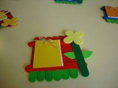 Anneler Günü Kart ve Hediyeleri (Yeni) – Anniversary Day Cards and Gifts – Popsicle Stick Crafts, Craft Stick Crafts, Craft Gifts, Diy Gifts, Diy And Crafts, Arts And Crafts, Paper Crafts, Ice Cream Stick Craft, Paper Anniversary