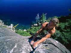 girl climbers