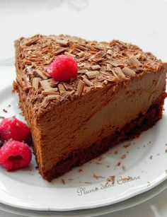 Gâteau-mousse-au-chocolat Chocolate Flavors, Chocolate Desserts, Delicious Desserts, Dessert Recipes, Yummy Food, Pelo Chocolate, Cupcake Cakes, Cupcakes, French Desserts