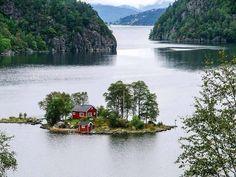 Island, Norway