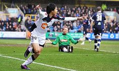 Ryo Miyaichi vs. Millwall.