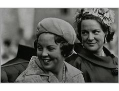 Royal Sisters...Princesses Beatrix and Irene of the Netherlands