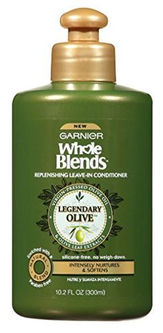 4dd4bdcac5 Garnier Whole Blends Condition Leave-In Olive Oil 10.2 Ou... https