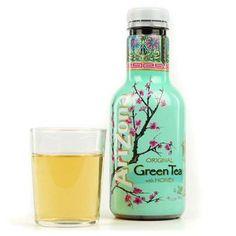 Thé glacé au thé vert, ginseng et miel