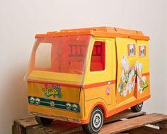 vintage Barbie camper from MollyFinds on etsy $25.00