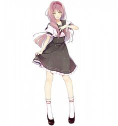 Hanabusa Kokoro - I★Chu - Image - Zerochan Anime Image Board Fantasy Character Design, Character Design Inspiration, Character Art, Cool Anime Girl, Beautiful Anime Girl, Madame Red, Manga Hair, Anime Dress, Kokoro