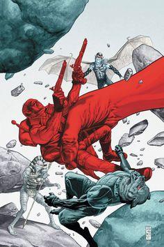 Frankenstein: Agent of S.H.A.D.E. - The Siege of S.H.A.D.E. City Part 1.