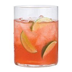 Island Girl: Cranberry Juice, Vodka, Ginger Ale, Lime Juice.