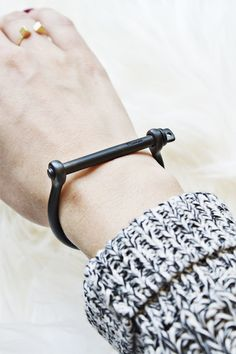 This sultry little Screw Cuff is a fabulous staple. mooreaseal.com