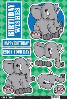 Buzzcraft Jungle Life Cut & Create - Nellie the Elephant
