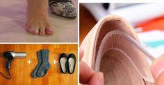 Schuhe können oft Probleme bereiten: Selbst wenn du die passende Größe gewählt hast, sitzen sie nur selten richtig und sind bequem. Oft sind Schuhe zu eng und drücken, sind nicht wasserdicht oder ihre Sohle ist zu glatt. Hier sind ein paar einfache Tricks, mit denen du dafür sorgst, dass sich deine Füße in Schuhen wohlfühlen.                                                                                                                                                     Mehr