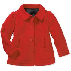 Healthtex Baby Toddler Girl Faux Wool Peacoat  I like the pink leopard one! Super cute! Mallory