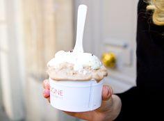 Best ice cream in Paris, Pedone Glacier, Lafayette Maison & Gourmet // In my ballerines