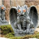 Grim Graveyard Light-Up Gargoyle Statue from Lillian Vernon