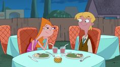Dinner date at Chez Platypus Candace And Jeremy, Candace Flynn, Cartoon N, Couple Cartoon, Disney Cartoons, Disney Pixar, Milo Murphy, Phineas Y Ferb, Perry The Platypus