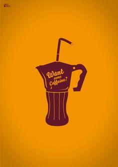 """caffeine""  handmade artwork  software: adobe illustrator cs5"