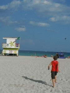 Last day in Miami USA - a day trip to South Beach - Exploramum & Explorason