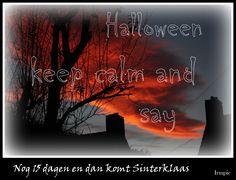Halloween sinterklaas
