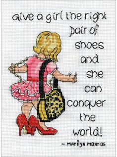 Tobin 2955 14 Count Shoes Counted Cross Stitch Kit, by Multicolor Cross Stitch Fabric, Cross Stitch Samplers, Counted Cross Stitch Patterns, Cross Stitching, Christmas Embroidery Patterns, Hand Embroidery Patterns, Etsy Embroidery, Cross Stitch Quotes, Sewing Projects