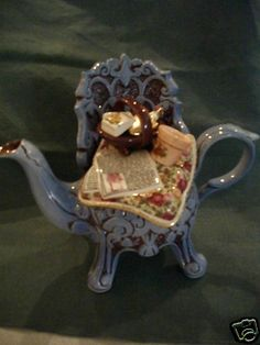 New Royal Albert Old Country Roses Cardew Spring Wrought Iron Teapot | eBay